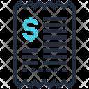 Checkout Commerce Invoice Icon