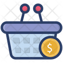 Check Out Billing Shopping Bucket Icon