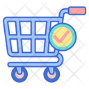 Checkout Done Shopping Confirmed Shopping Icon