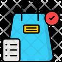 Checkout E Commerce Shopping Bag Icon