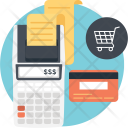 Checkout Cash Register Icon