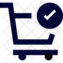 Trolley Success Cart Icon
