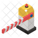 Barrier Barricade Restricted Icon
