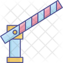 Barrier Checkpoint Checkpost Icon