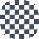 Checkprint Squares Design Icon