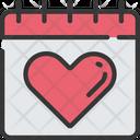 Health Check Date Calendar Health Care Icon