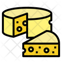 Cheddar Cheese Dairy Icon