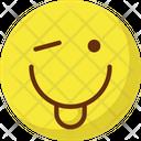 Cheeky Tongue Adoring Icon