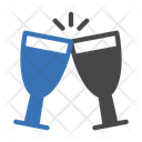 Cheer Champagne Party Icon