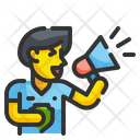 Cheer Megaphone Audience Icon