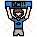 Cheer Football Cheer Number Icon