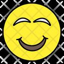 Cheerful Emoji Emotion Emoticon Icon