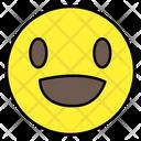 Cheerful Emoji Emoticon Smiley Icon