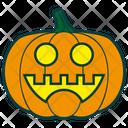 Cheerful Pumpkin Icon