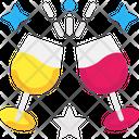 Cheers Toast Celebration Drink Icon