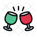Drink Glass Party Icon