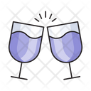 Champagne Drink Beverages Icon
