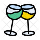 Cheers Champagne Drinks Icon