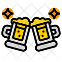 Cheers Beer Alcohol Icon