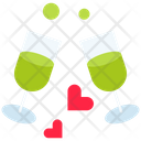 Cheers Love Drink Beverage Icon