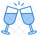 Cheers Drink Glass Icon