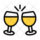 Cheers Champagne Glass Champagne Icon