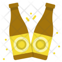Cheers Beer Bottles Icon
