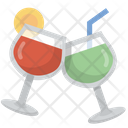 Cheers Mix Drinks Icon