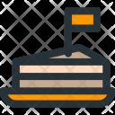 Chees, Cake Icon