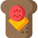 Chees Sandwich Icon