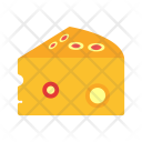 Cheese Food Sweet Icon
