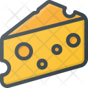 Cheese Food Eat Icon