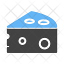 Cheese Salty Food Icon