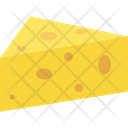Cheese Cheese Slice Dairy Food Icon