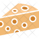 Cheese Cheese Block Cheese Piece Icon