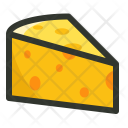 Cheese Dairy Slice Icon