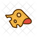 Cheese Cheddar Slice Icon