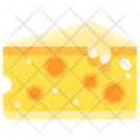 Cheese Cheese Cube Food Icon