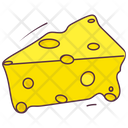 Cheese Slice Piece Icon