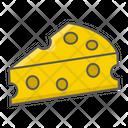 Cheese Food Keto Icon