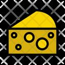 Cheese Slice Bakery Icon