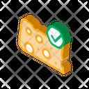 Cheese Piece Organic Icon