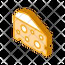 Coarse Triangular Cheese Icon