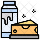 Cheese Fattening Milky Icon
