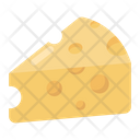 Cheese Cheese Slice Cheese Block Icon