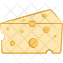 Cheese Cheese Piece Cheese Block Icon