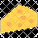 Cheese Cheese Slice Cheese Block Icon