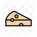 Cheese Bakery Sweets Icon