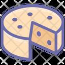 Breakfast Cheese Eat Icon