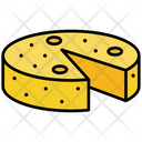 Cheddars Cheese Dairy Icon